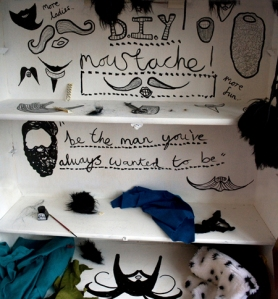 Betoney May - Moustache Booth