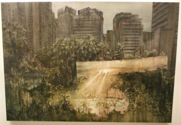 Lu Song, The City It Wakes For Me, 2011, Oil On Canvas