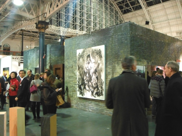 Lazarides Stand at Art 13
