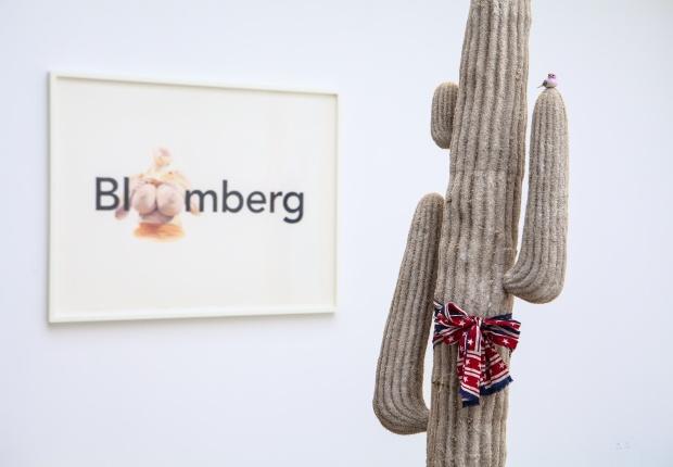 Full Bloomberg, Eric Yahnker, Paradise Row
